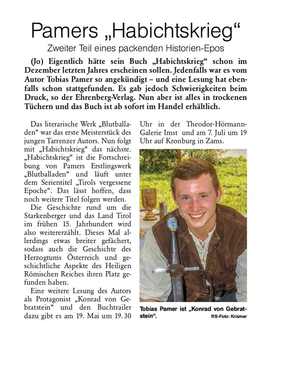 Rundschau Mai 2017